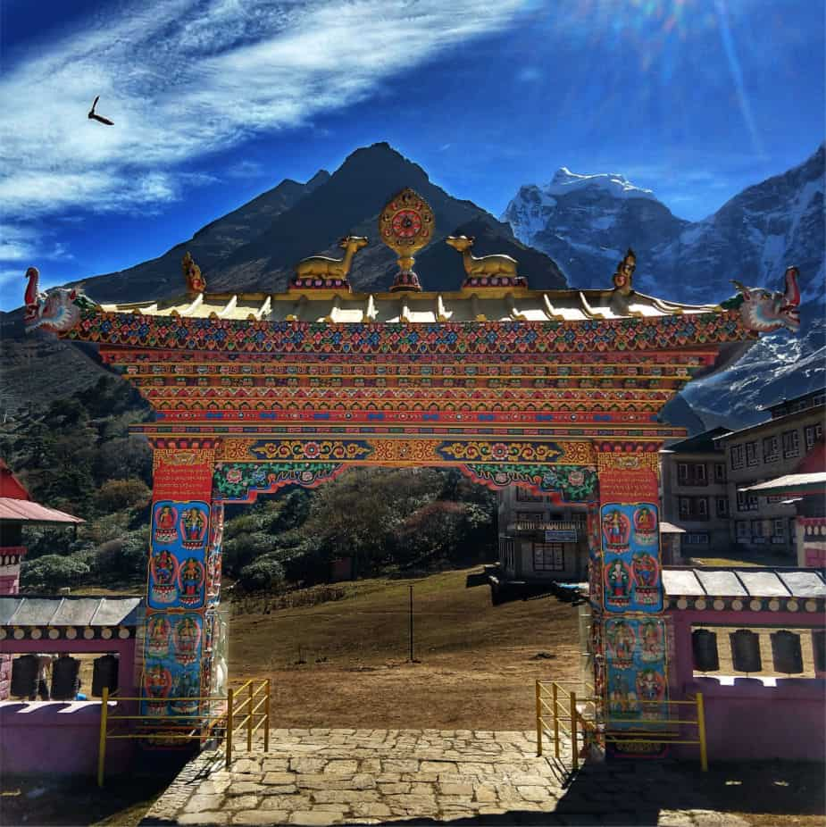Tengboche Monastery on the Everest Base Camp Hike