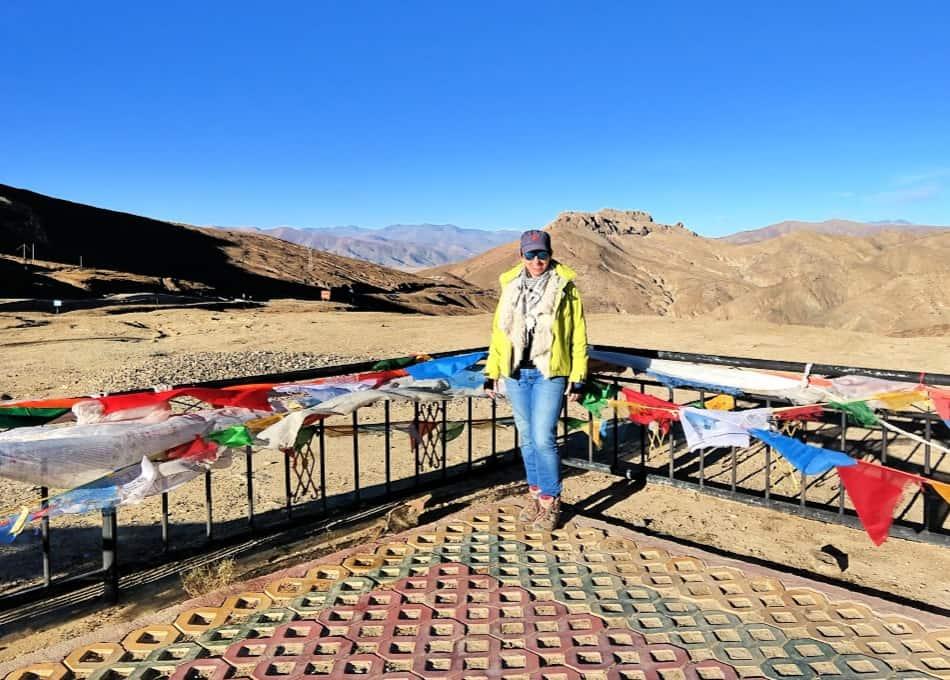 High Altitude Pass in Tibet