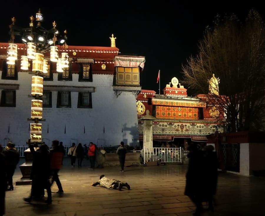 Jokhang Temple Old Lhasa