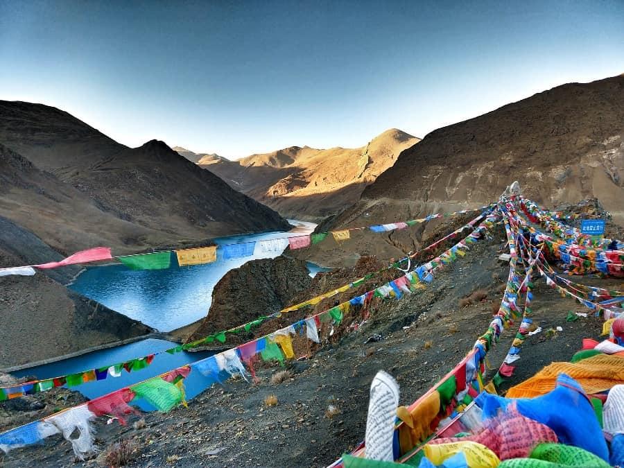 Tibet. The Tibetan Plateau
