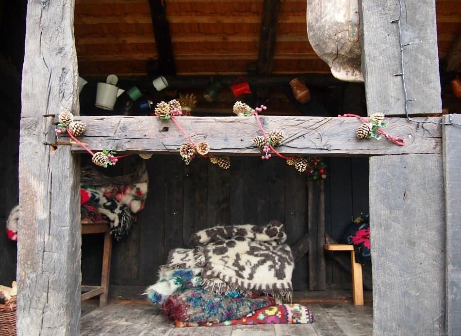 Christmas in Breb Romania