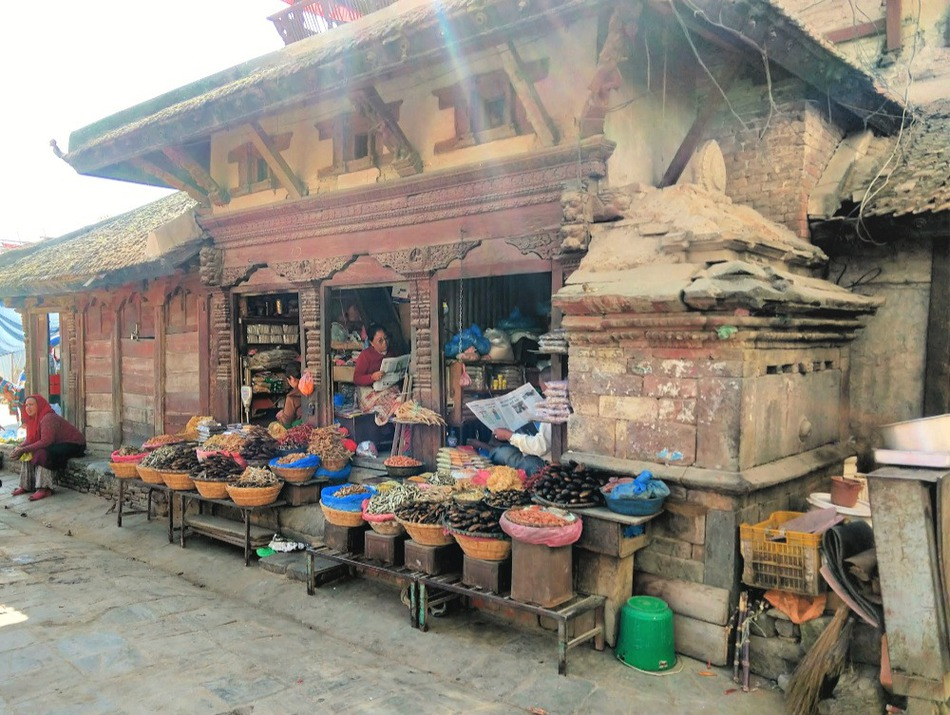 Durbar square Kathmandu near Freak St