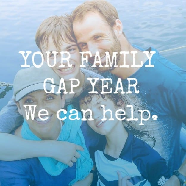 Family Gap Year, visualising, planning, making it happen.