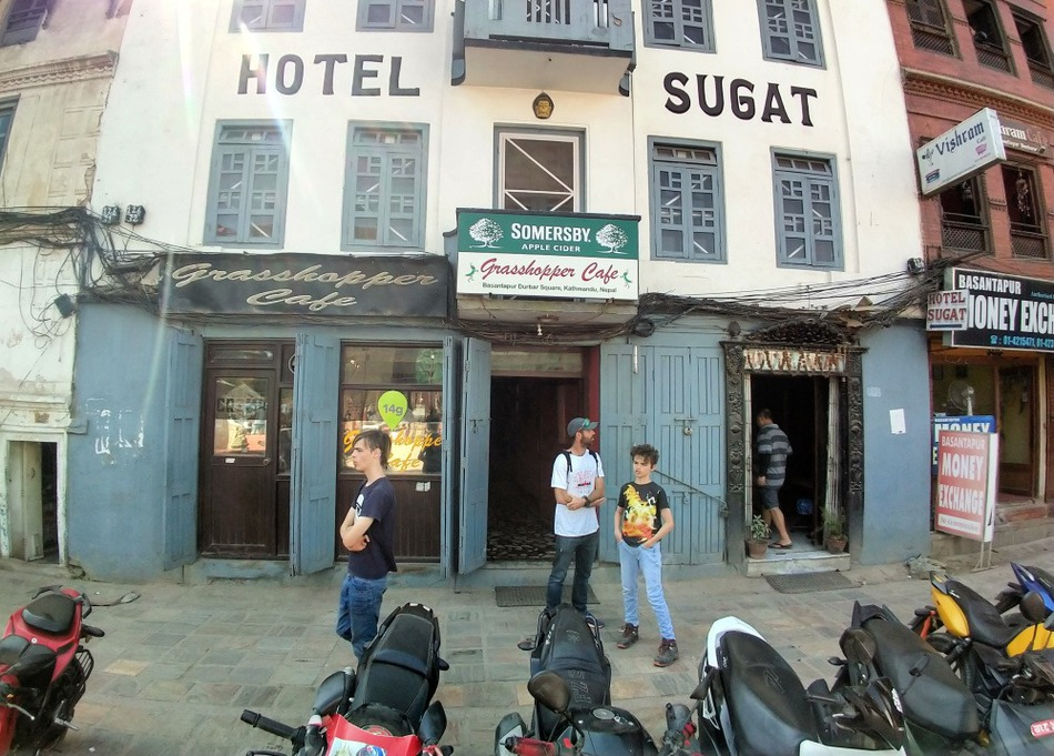 Grasshopper cafe Kathmandu
