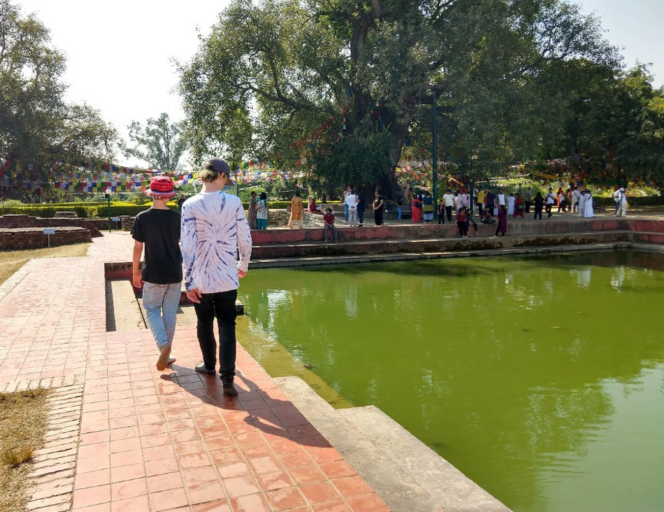 Lumbini Nepal. Where Buddha was born.