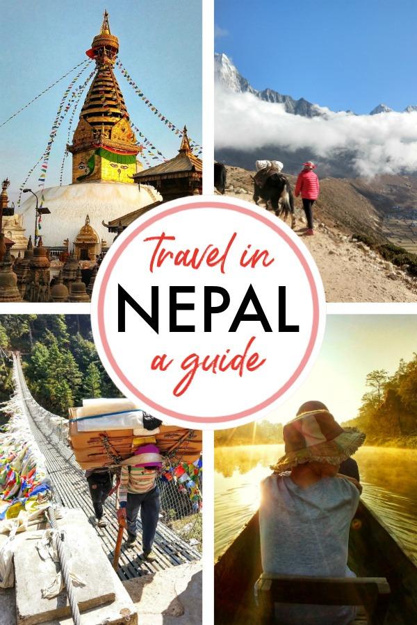 nepal travel blog pinterest