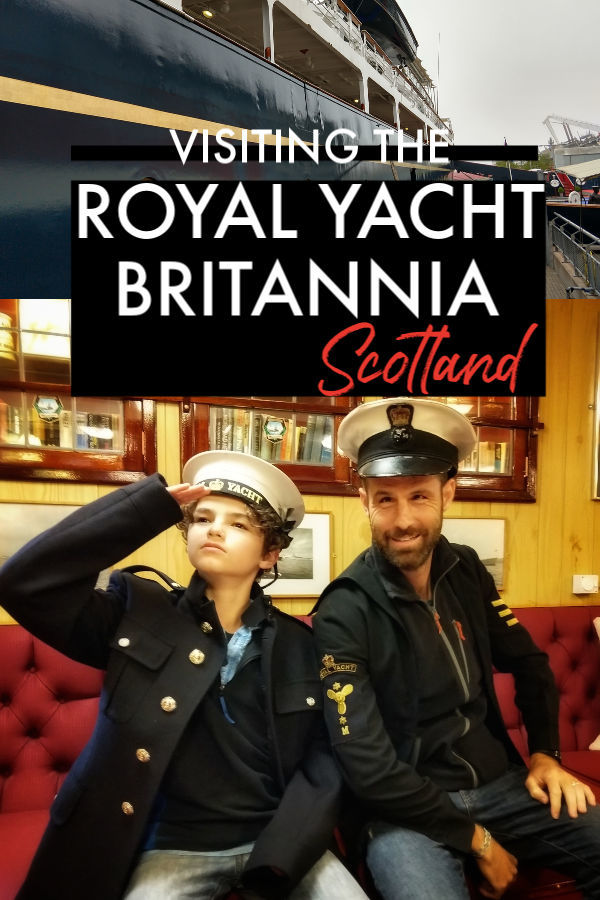 Visiting the Royal Yacht Britannia Scotland Edinburgh