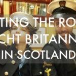 Visiting the royal yacht Britannia Scotland
