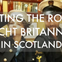 Visiting the Royal Yacht Britannia in Edinburgh