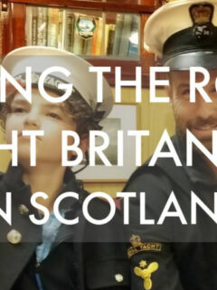 Visiting the royal yacht Britannia Scotland