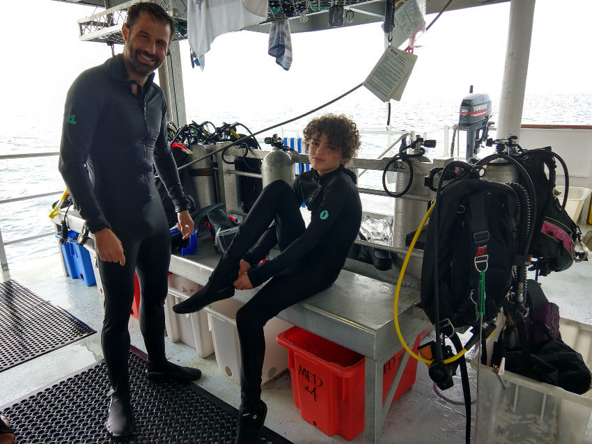 Snorkelling on a liveaboard dive cruise