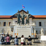 Three Kings Monument and Chiang Mai History