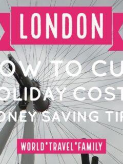 money saving tips london