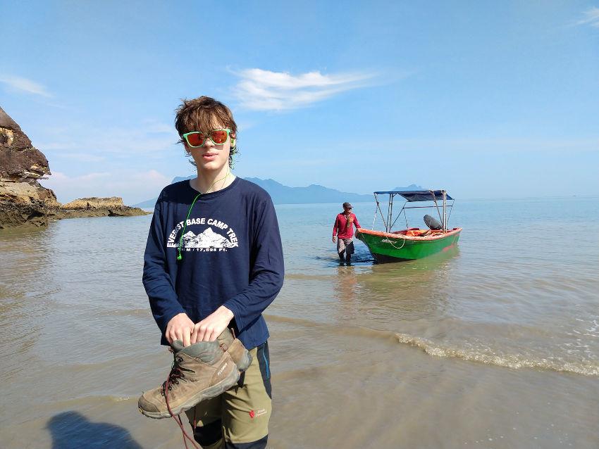 Boat to Bako National Park Sarawak Travel Blog