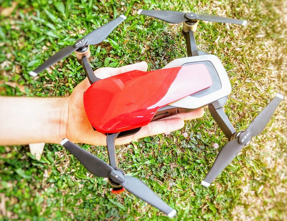 Our DJI Mavic air for travel and travel blogging