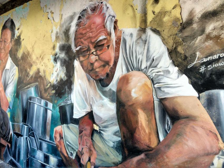 Kuching Borneo Street Art. Sarawak Travel Blog