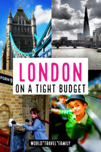 London on a tight budget
