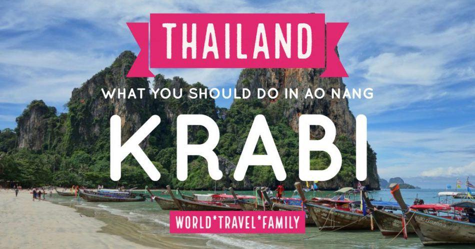 Things to do in AoNang Krabi