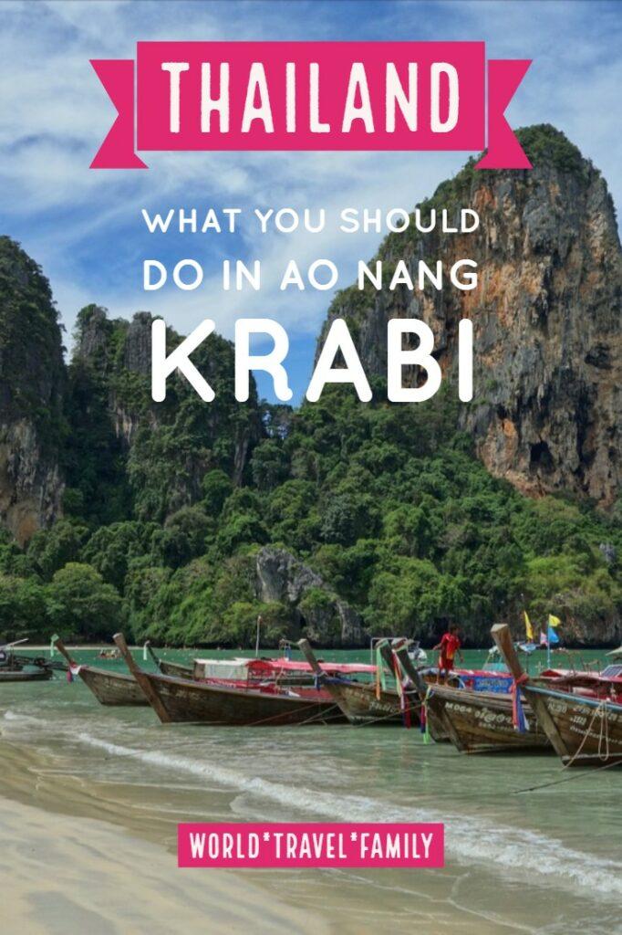 What you should do in AoNang Krabii