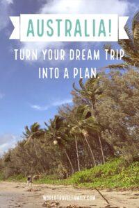 australia travel blog and guide pinterest image