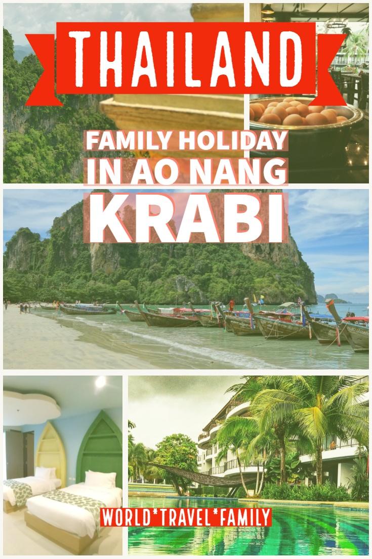 family holiday in Ao Nang Krabi
