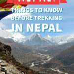 things to know before trekking in nepal