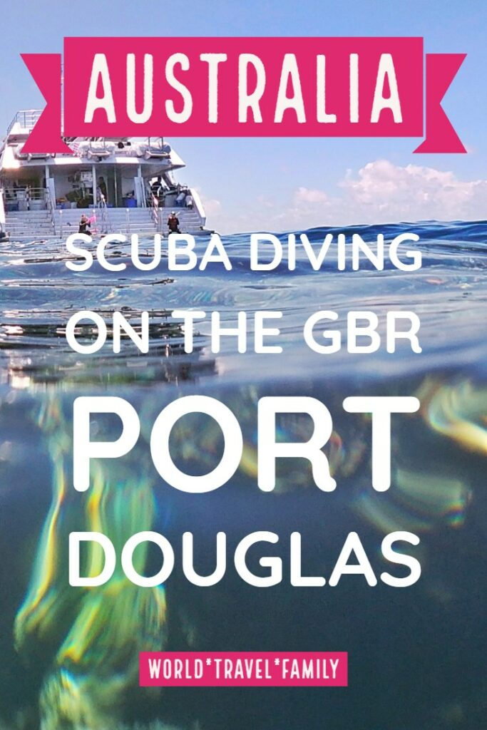 Australia scuba diving on the GBR Port Douglas