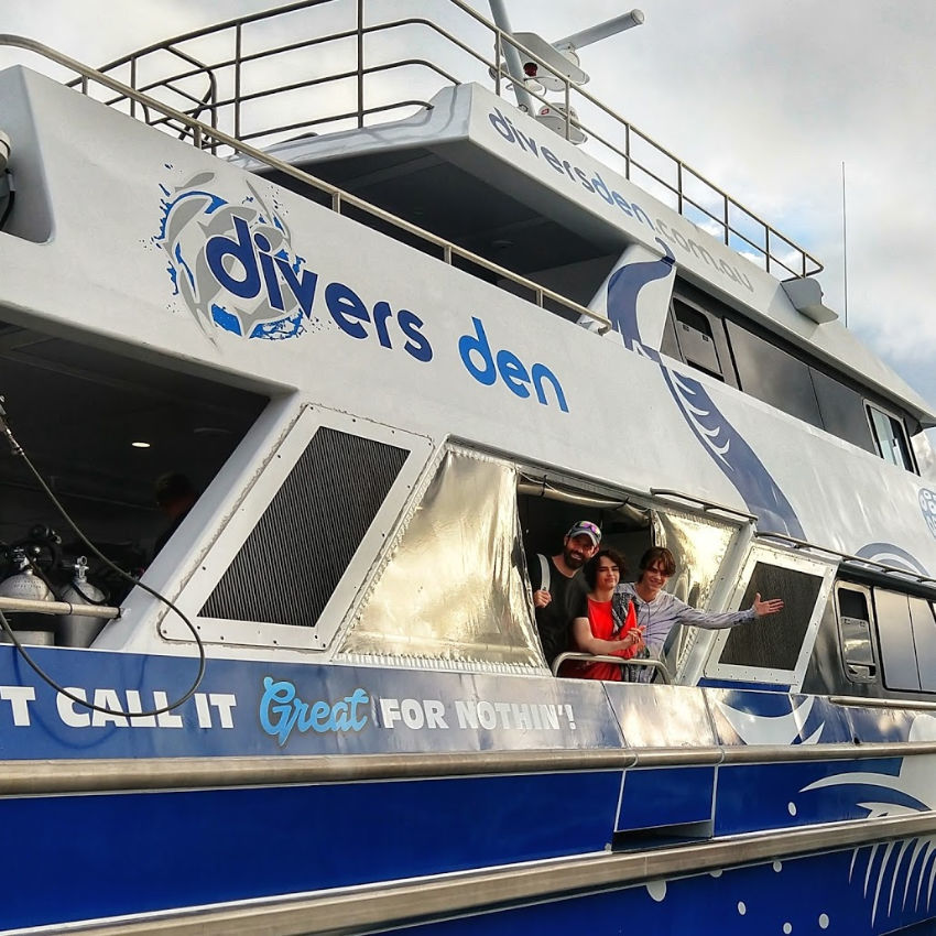 Port Douglas Diving on Aqua Quest by Divers Den
