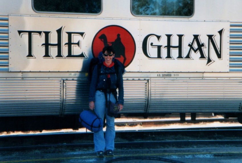the ghan Australia travel blog classic train journeys