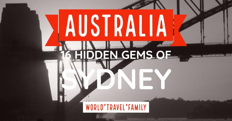 Australia 16 Hidden Gems of Sydney