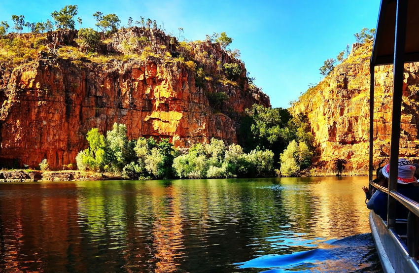 Australia Travel Blog Northern Territory. Katherine Gorge