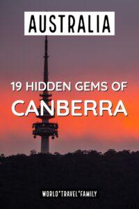 Hidden gems of canberra