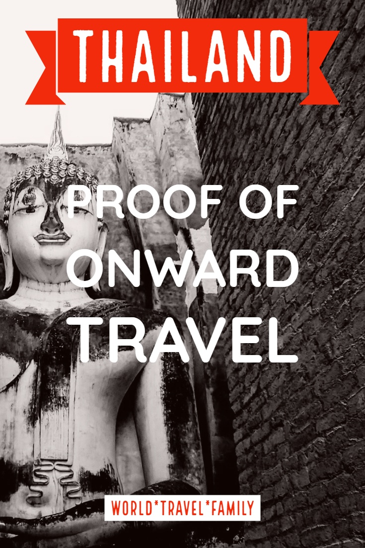 Thailand Proof Of Onward Travel flights entry