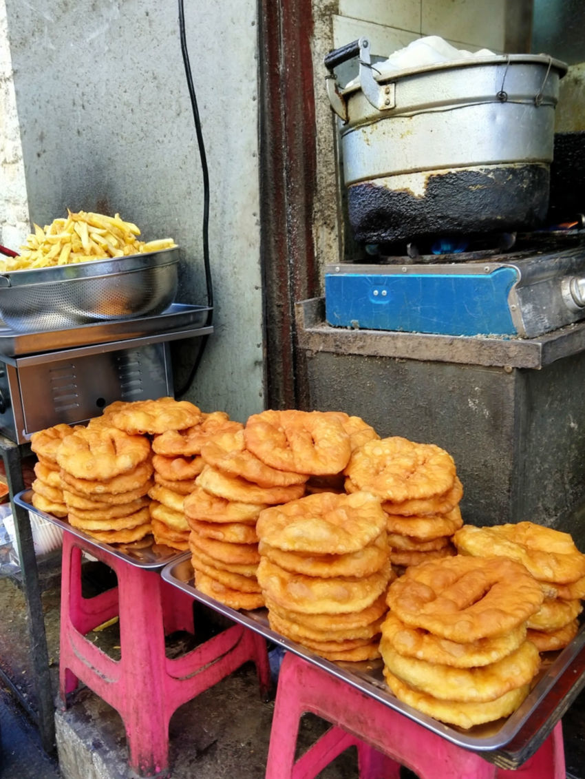 Tibetan Bread in Tibet