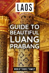 Laos Guide to Beautiful Luang Prabang