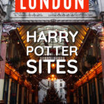 London harry potter sites