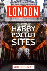 London harry potter sites