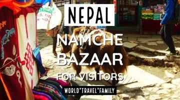 Nepal Namche Bazaar