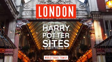 harry potter sites in london