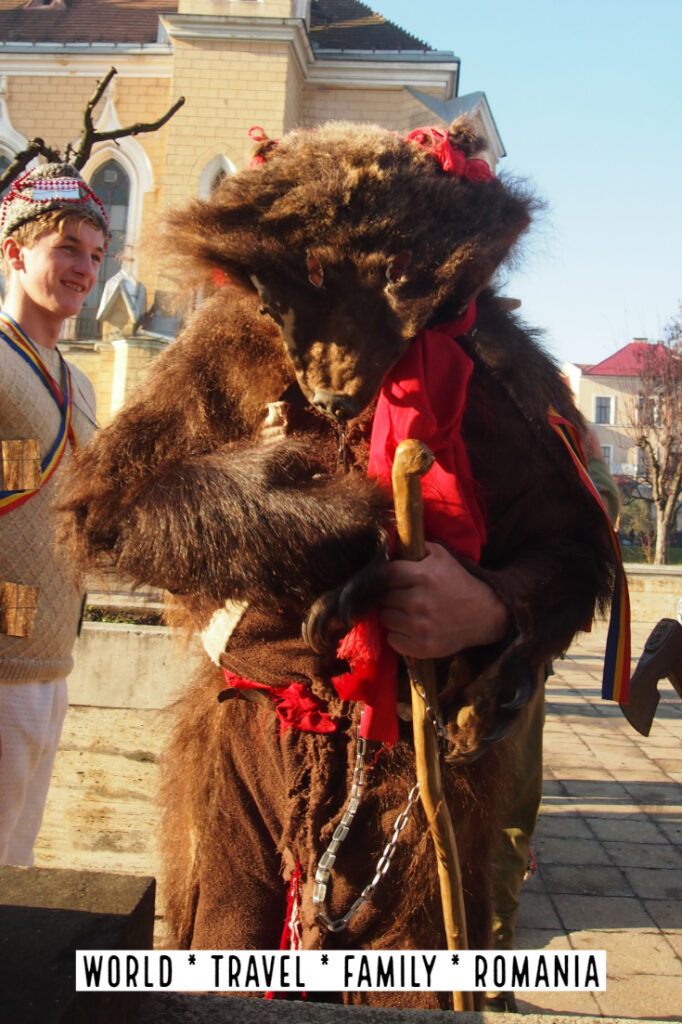 Bear Skin Romania Dance Winter Christmas