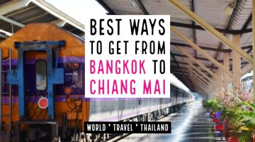 How to get from Bangkok to Chiang Mai