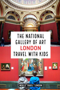 National Gallery of Art London Travel With Kids in UK