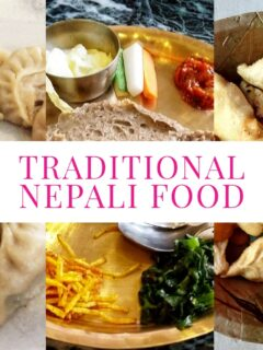 Traditional Nepali Food