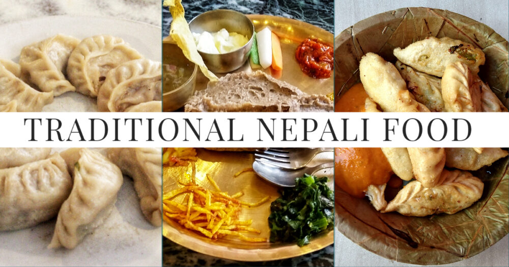 Traditional Nepali Food Guide. 3 Nepalese Dishes and Text