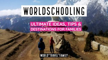 Worldschooling Families Guide Itinerary
