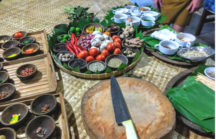 Balinese Ingredients Cooking Class Bali With Kids