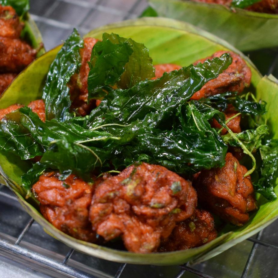 Thai food fish cakes