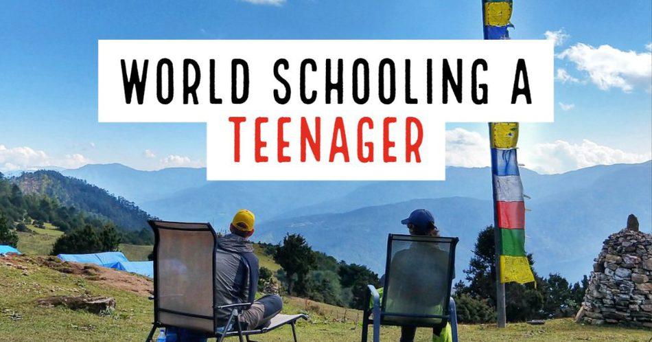 World Schooling a Teenager