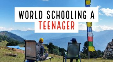 World Schooling a Teenager