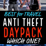 Best anti theft Daypack for travel